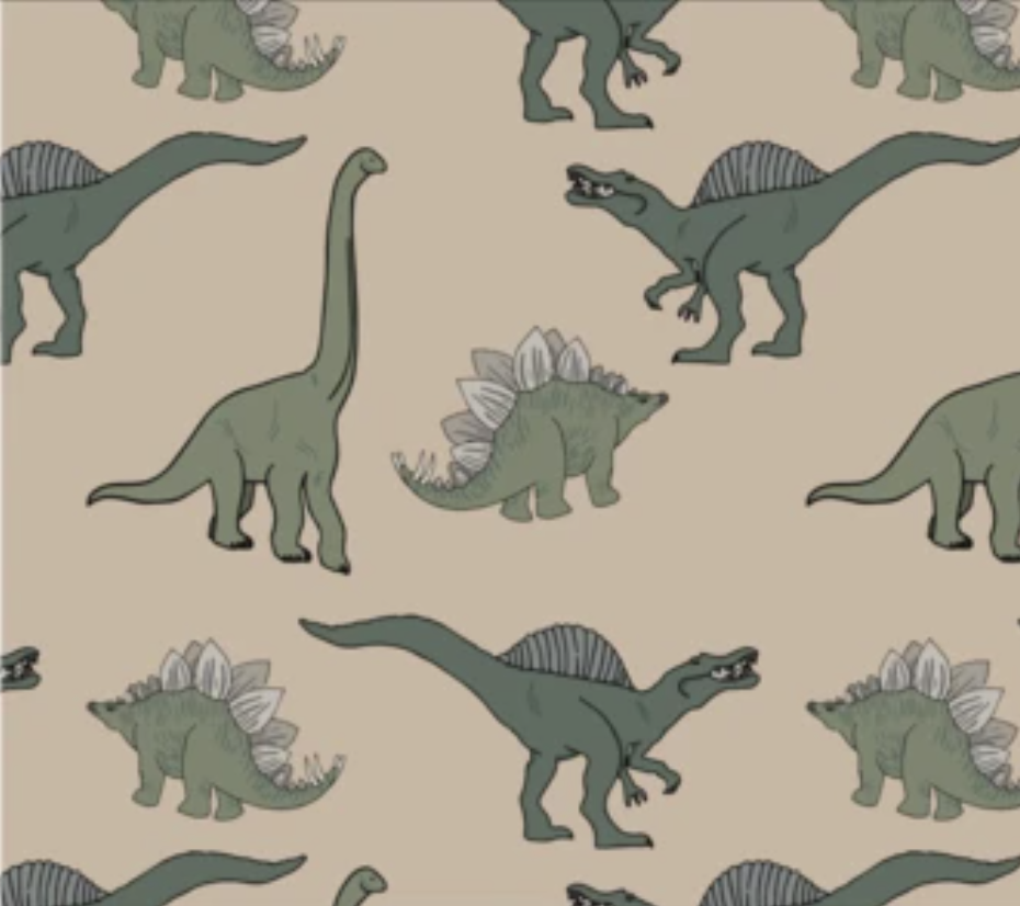Image of *NEW* Green Dinos Romper