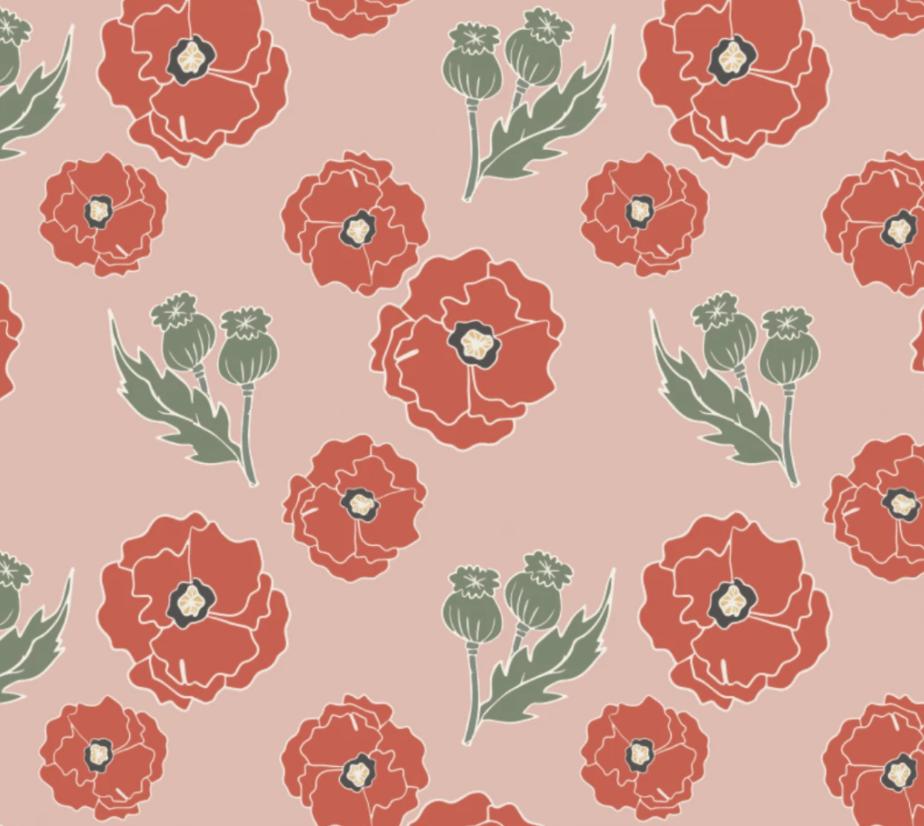 Image of *NEW* Pink Poppy Romper