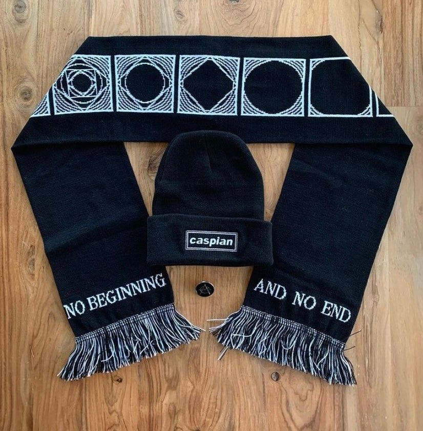Image of Scarf + Beanie + Pin Combo