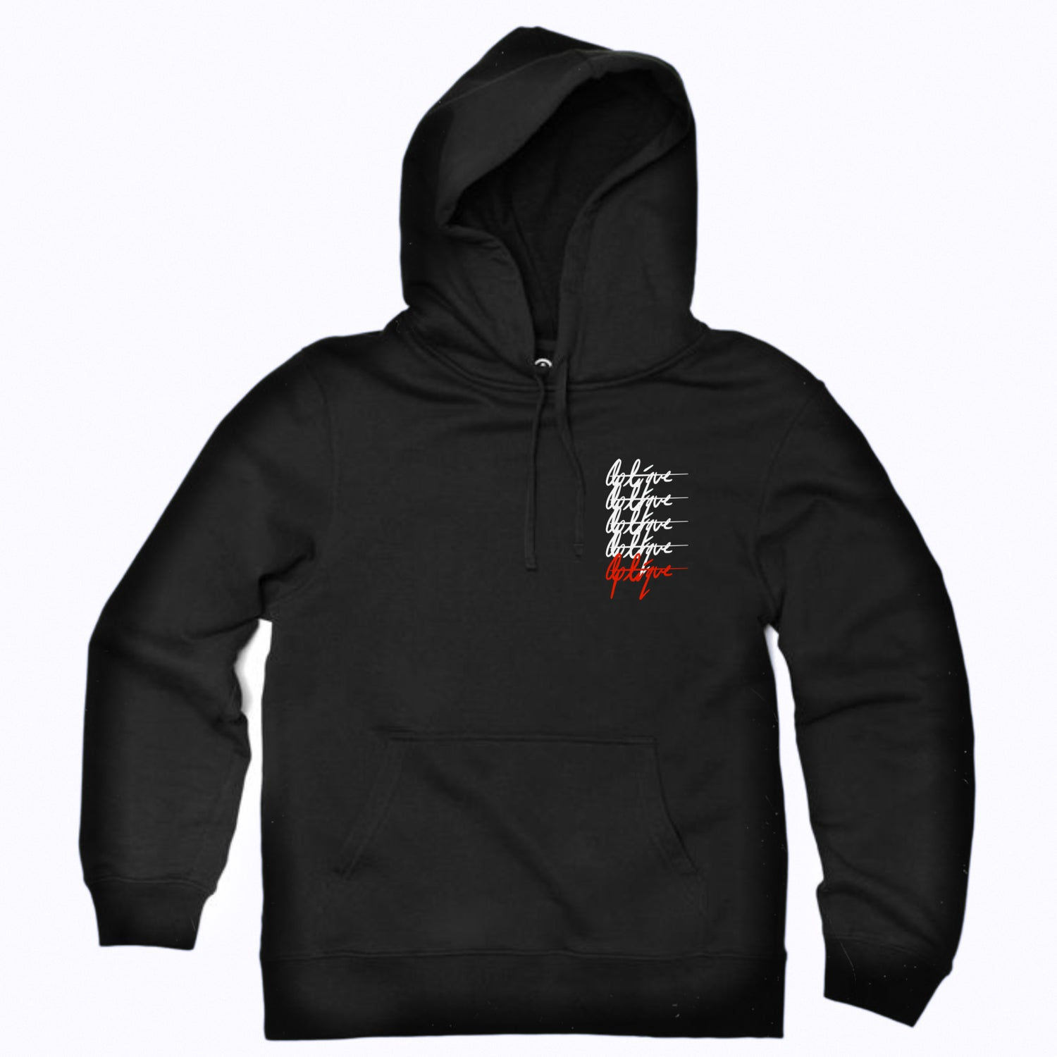 Image of OPTIQTINES Hoodie   France Classic   BLACK    *VERY LIMITED*