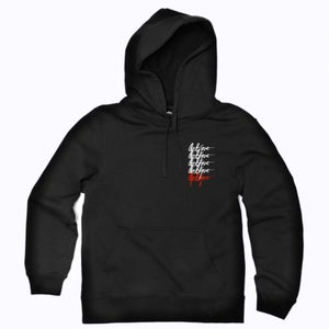 Image of OPTIQTINES Hoodie | France Classic | BLACK  | *VERY LIMITED*