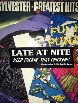 Late At Nite 'Ernie' Bumper Sticker