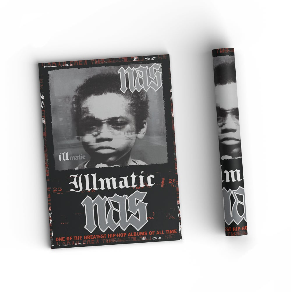 "Image of Nas ""Illmatic"" Poster 11x17"