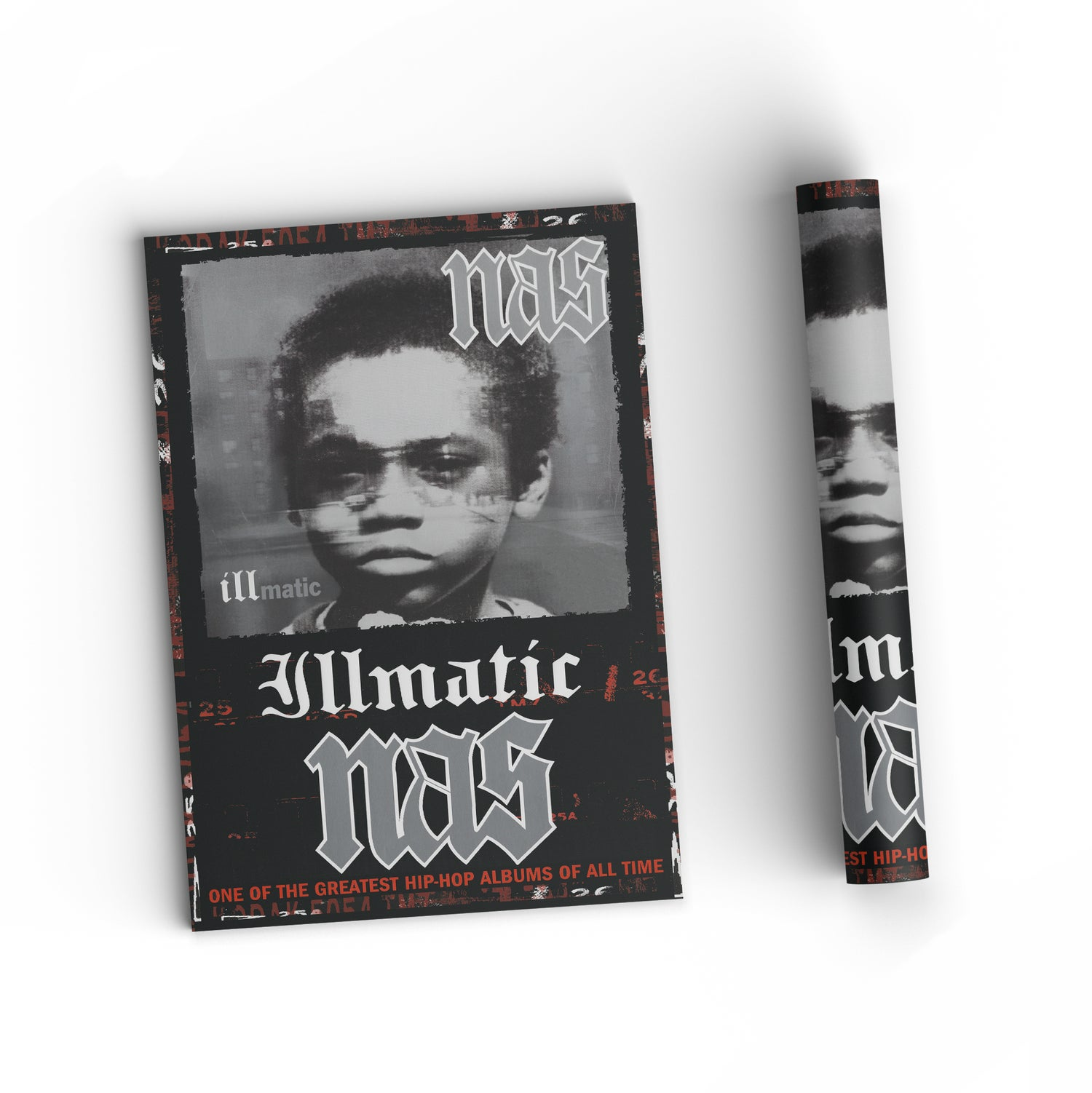 """Image of Nas """"Illmatic"""" Poster 11x17"""