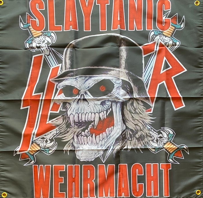 Image of Slaytanic Wehrmacht - Slayer Flag / Banner / Tapestry