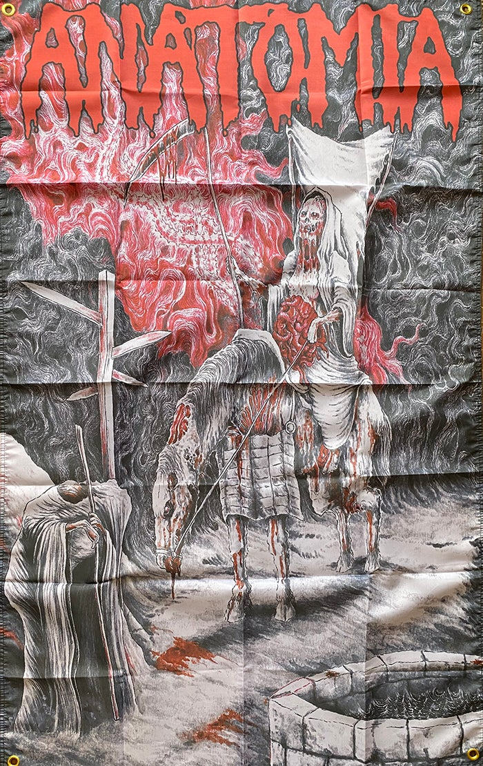 "Image of Anatomia "" Dissected Humanity "" - Flag / Banner / Tapestry"