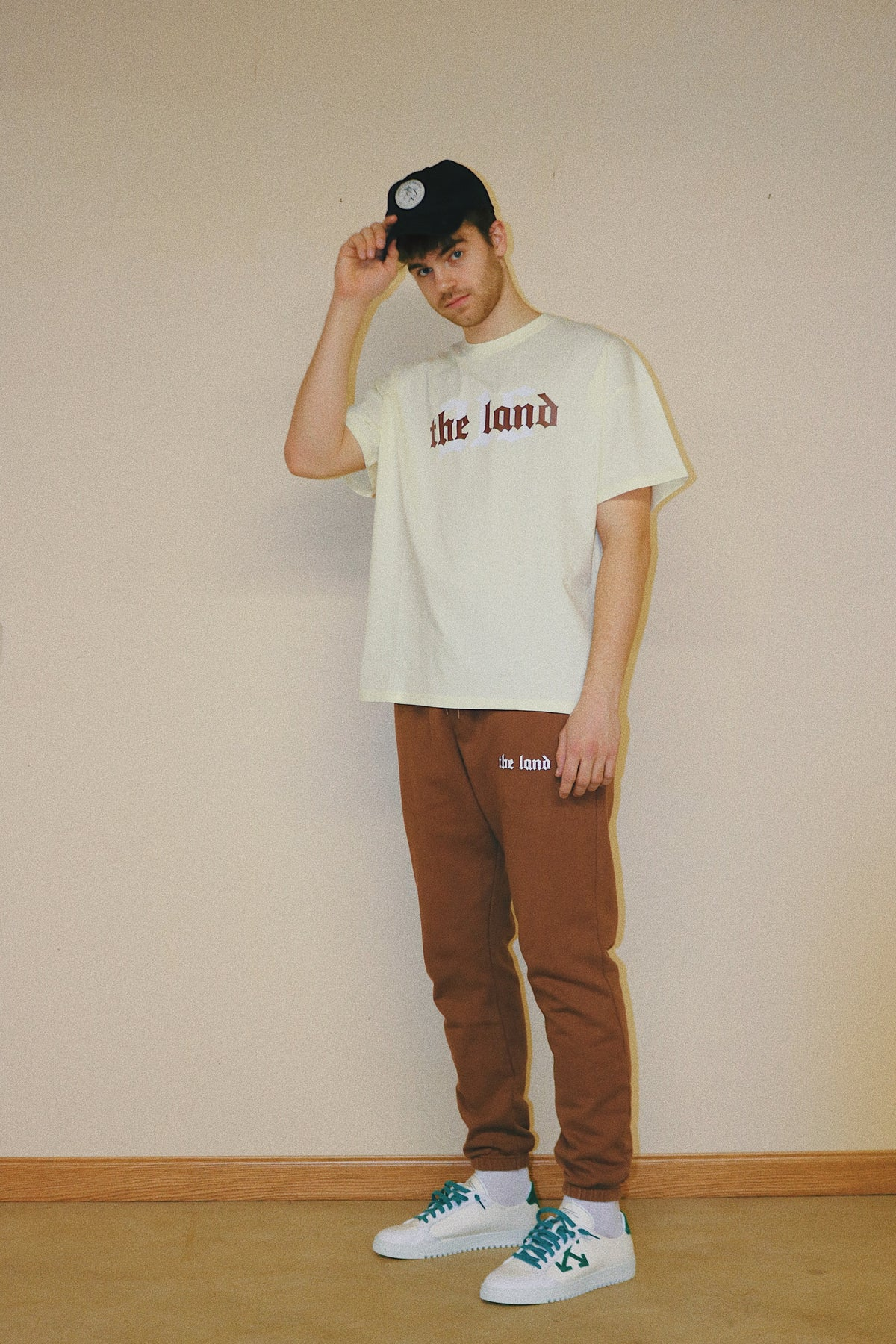 The Land 216 Collection Cream Tee