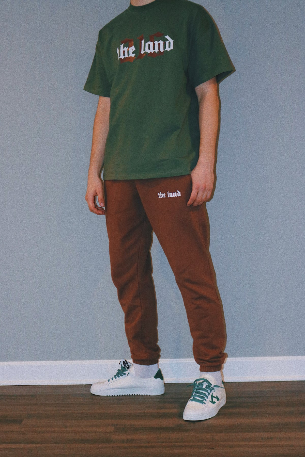 """""""The Land"""" Premium Brown Sweatpants"""