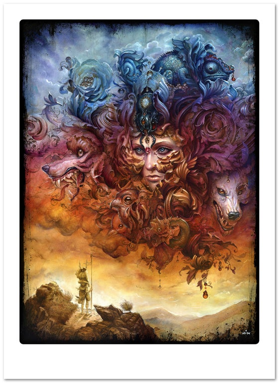 "Image of ""Tempest"" giclee print"