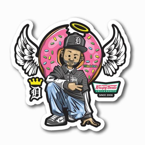 Image of J Dila Sticker
