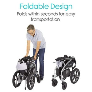 Image of Compact Power Wheelchair   free shipping