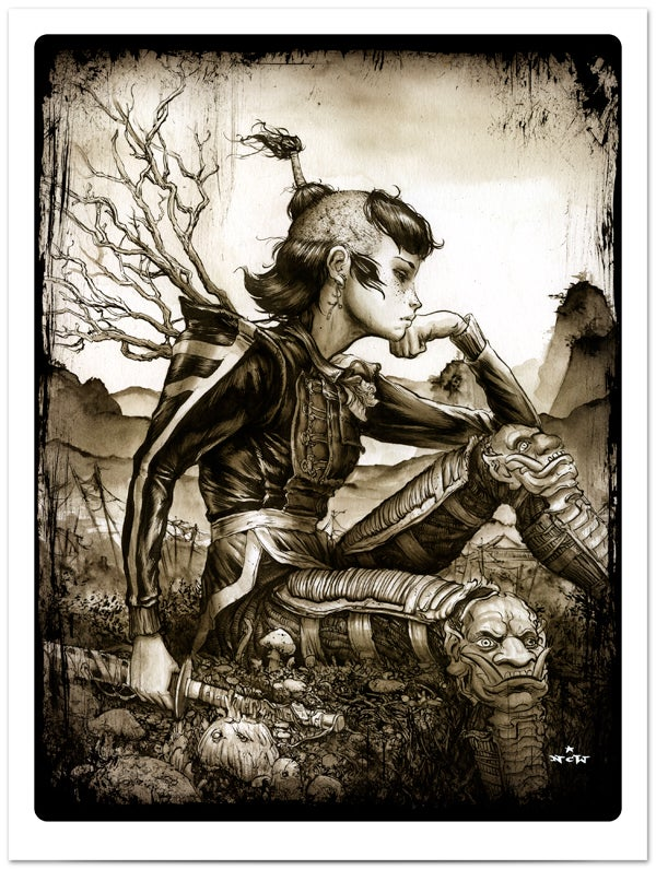 "Image of ""The Long Return"" giclee print"