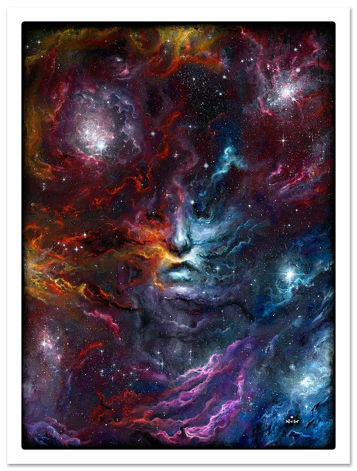 "Image of ""Starstuff"" giclee print"