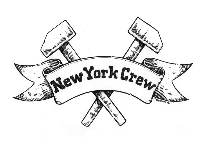 "Image of ""New York Crew"" - Original Artwork"