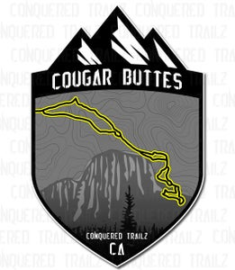 "Image of ""Cougar Buttes"" Trail Badge"