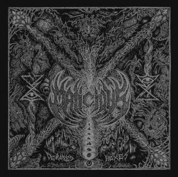 """Image of Malicious """"Deranged Hexes""""  _12"""" LP _ Invictus Productions"""