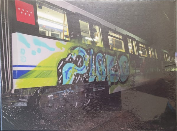 Image of Madrid Metro tunnel action canvas