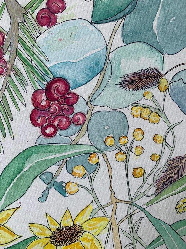 Image of Snowy Bush Collection - Original Watercolour