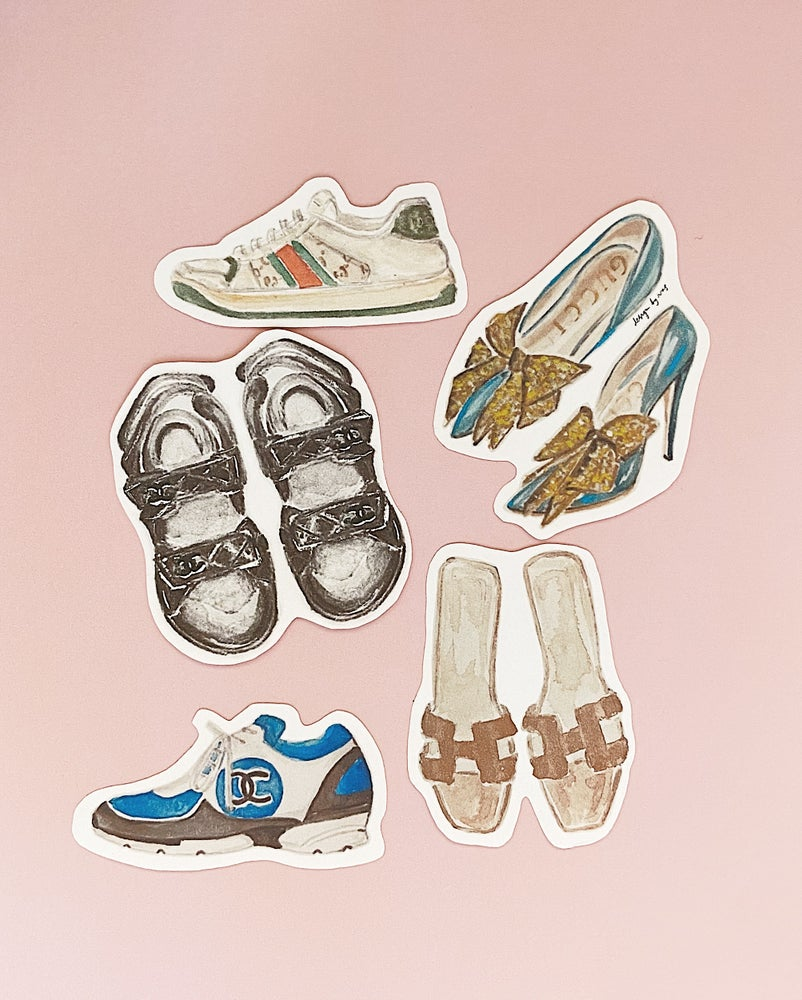 Image of Sticker Set / Shoes