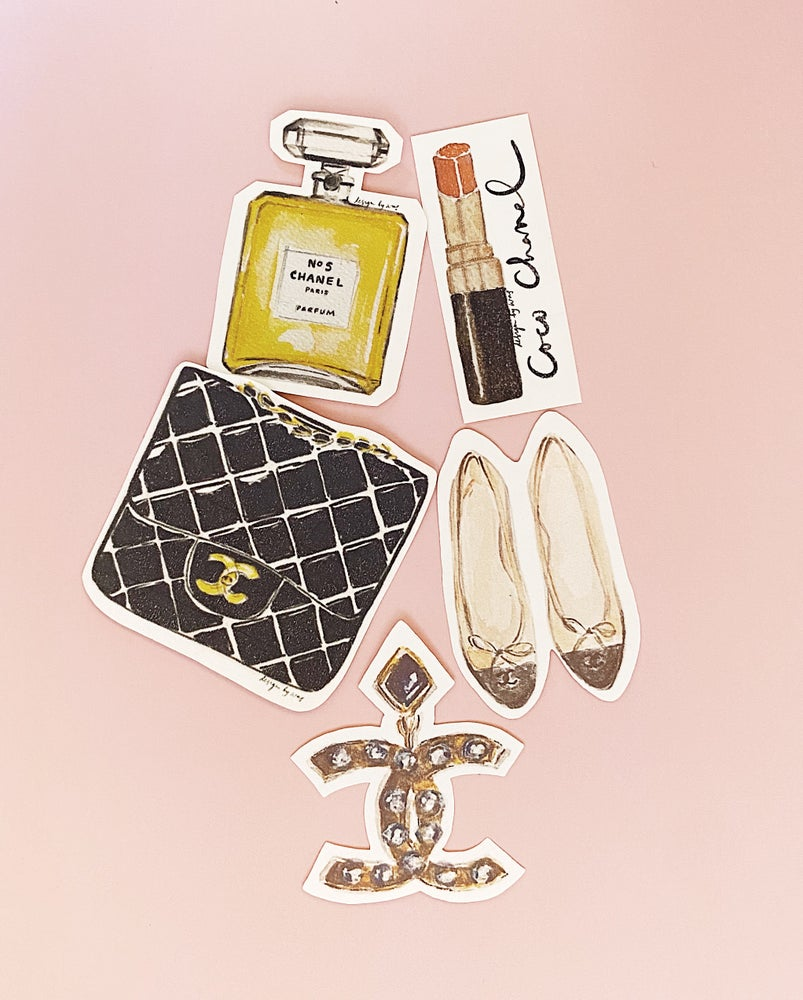 Image of Sticker Set / Just Chanel