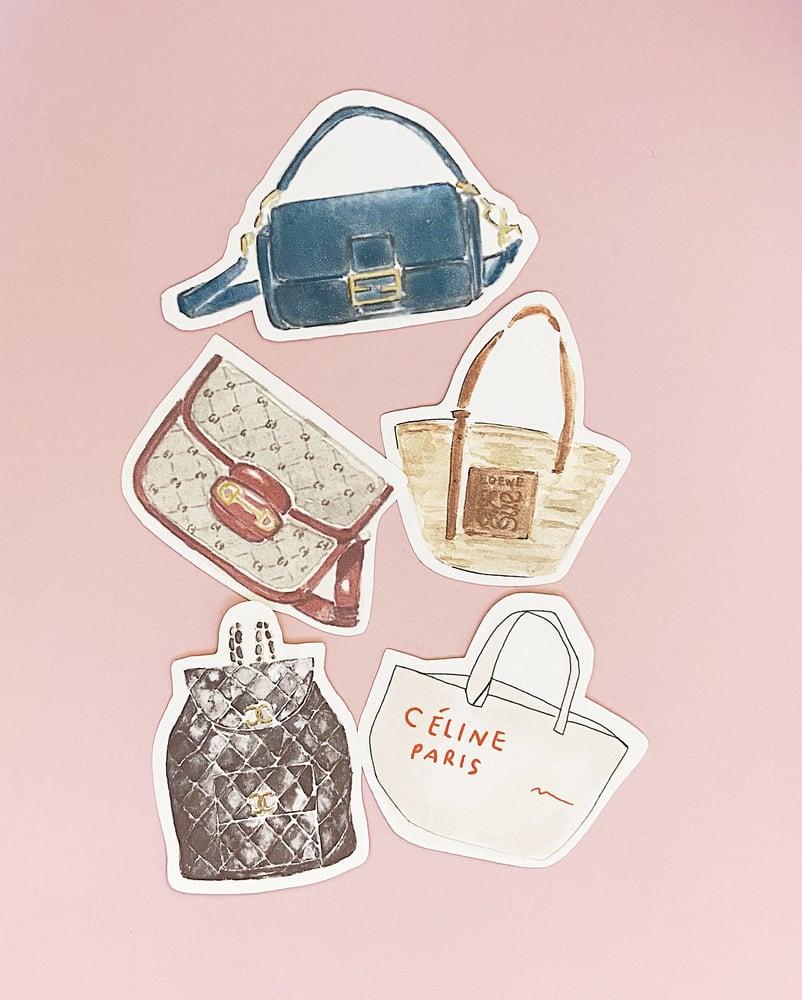 Image of Sticker Set / Bags No 2