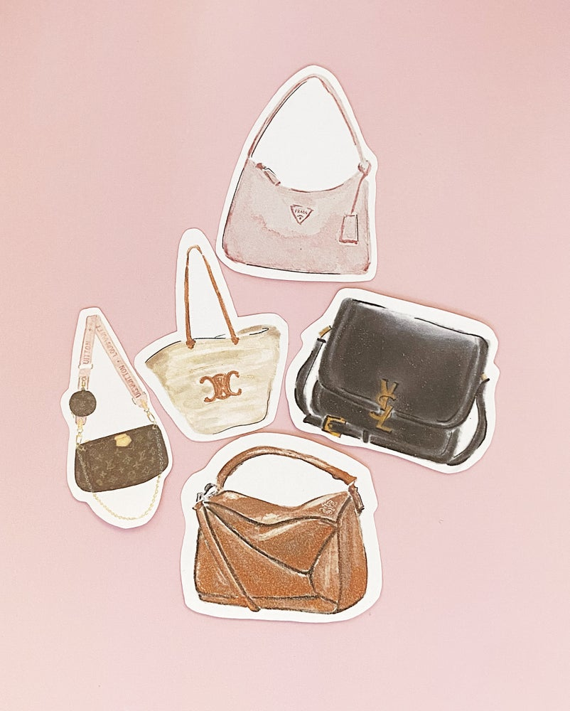 Image of Sticker Set / Bags No 1