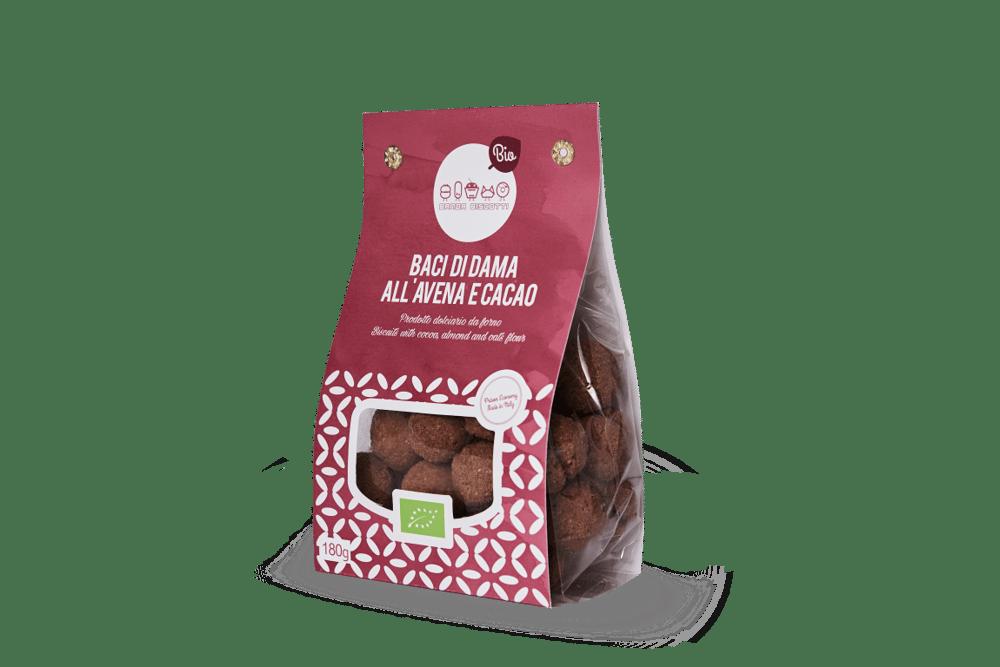 Image of BACI di DAMA all'avena e cacao