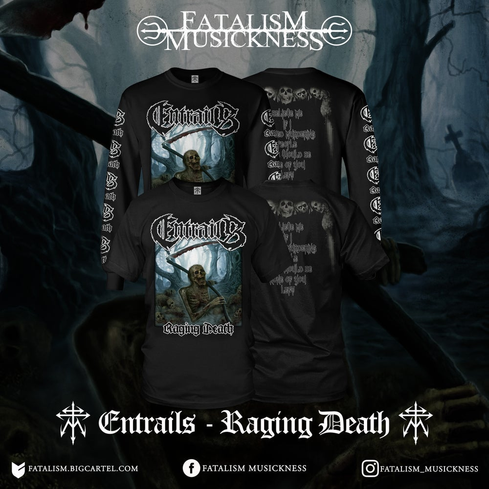 Image of ENTRAILS - Raging Death SS & LS