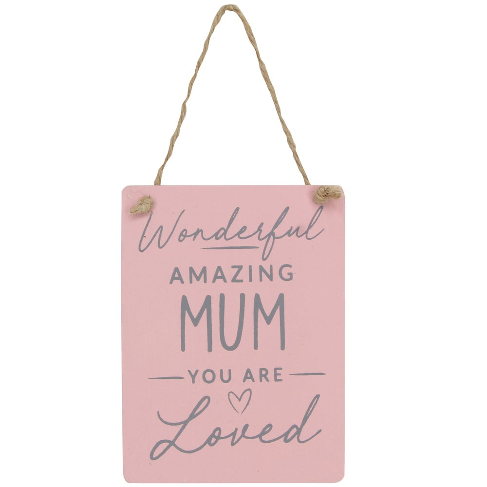 Image of Gisela Graham Wonderful Amazing Mum Sign