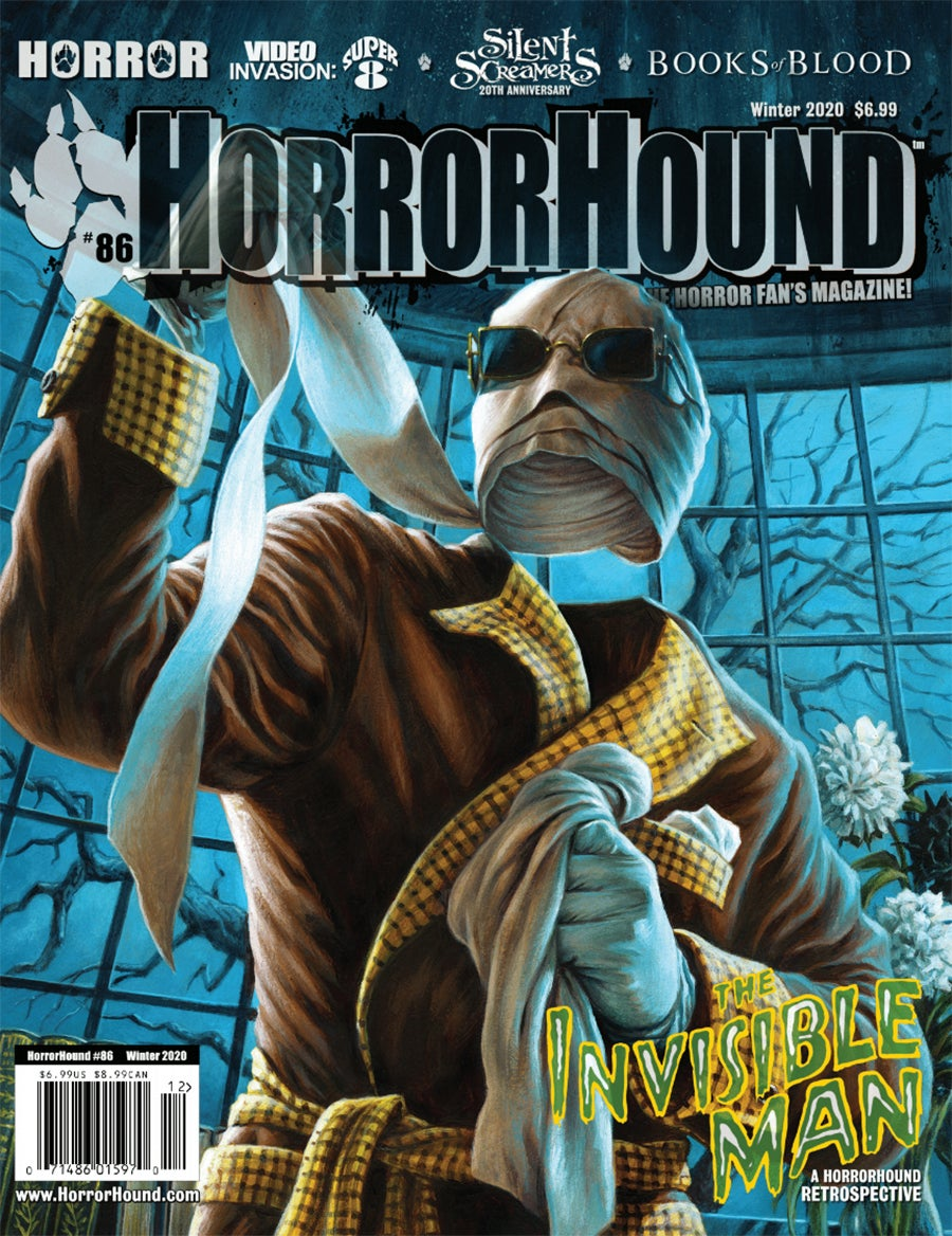 """HorrorHound #86"" - signed magazine"