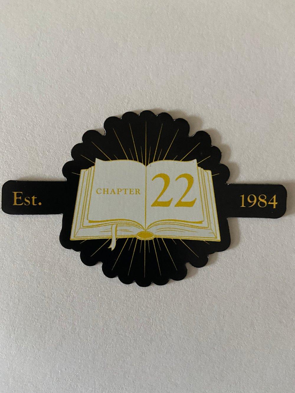 Image of Chapter 22 fridge magnet