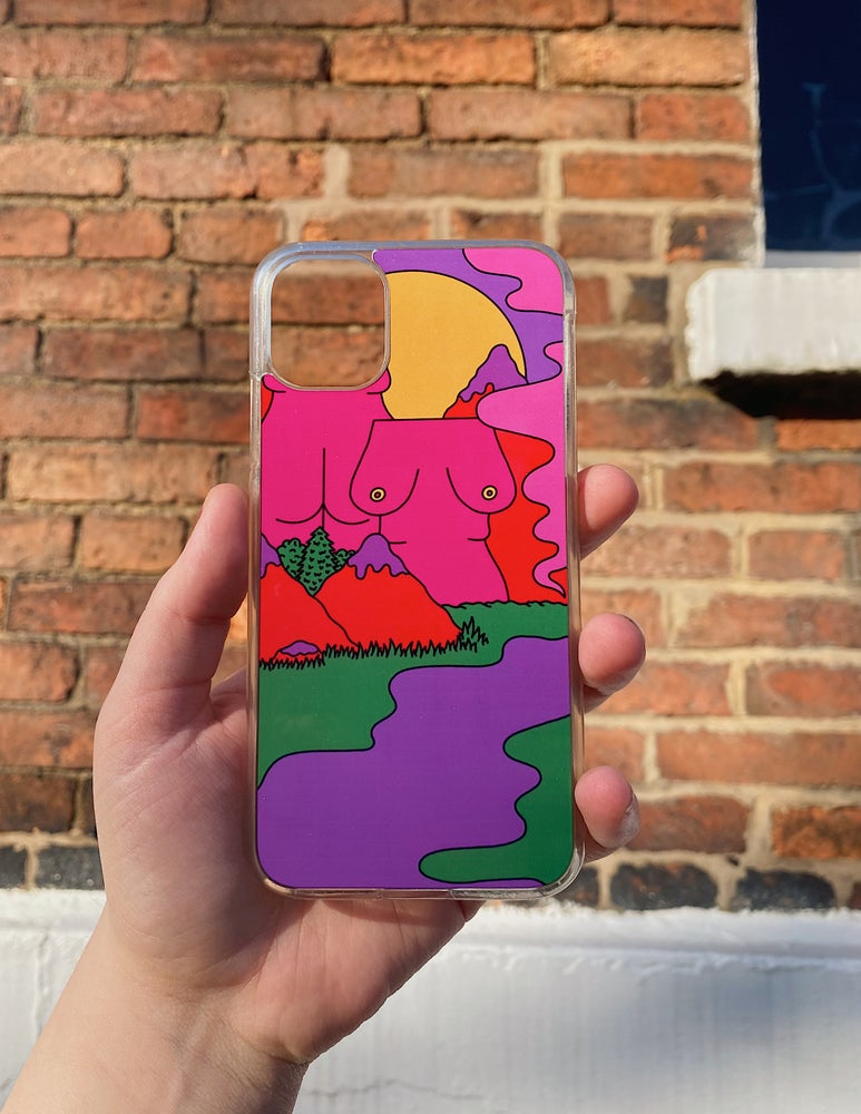 Image of mountain phone case