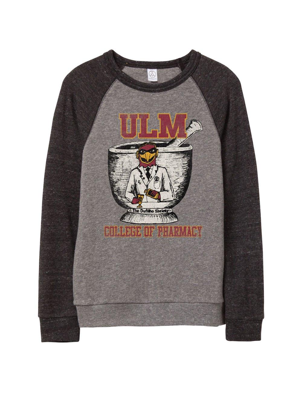 Image of ULM College of Pharmacy Sweatshirt- Pre order