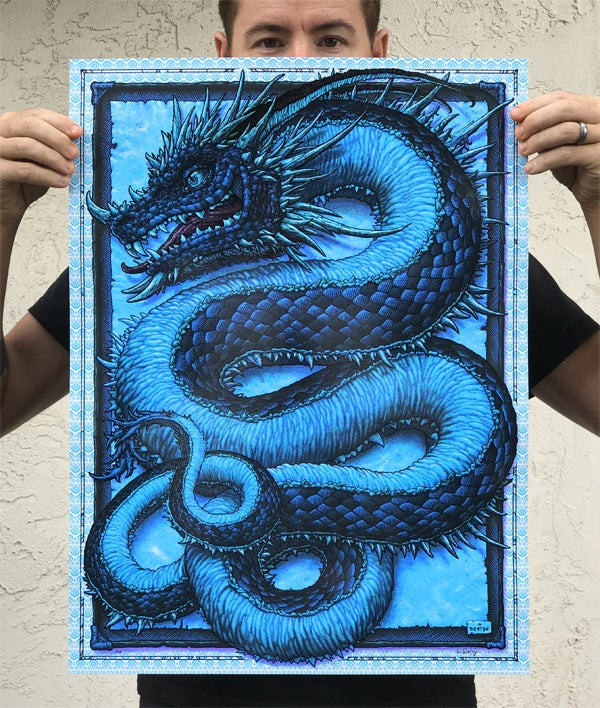 "Image of ""Serpentine"" Art Print"