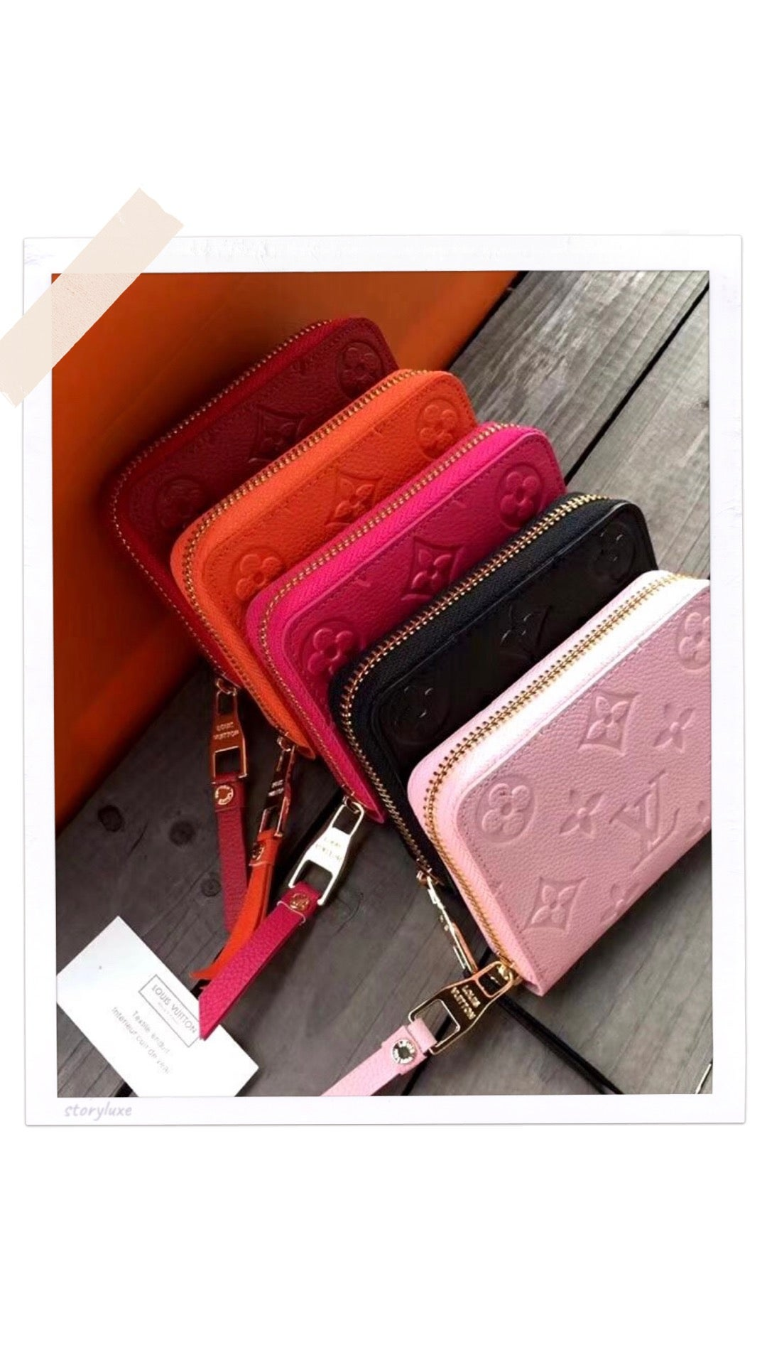 Image of LV Inspired mini wallets