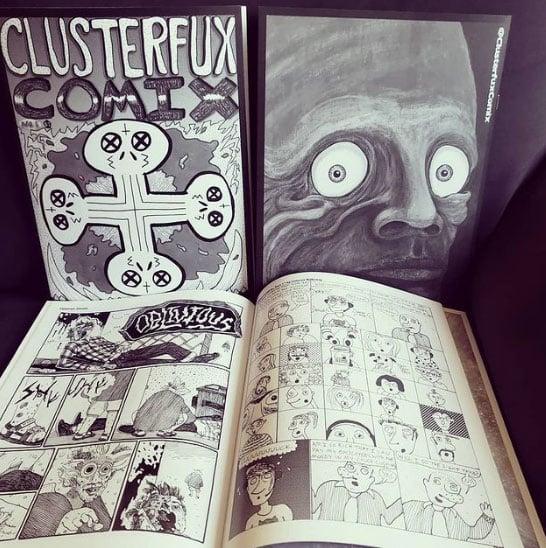 Clusterfux Comix #1