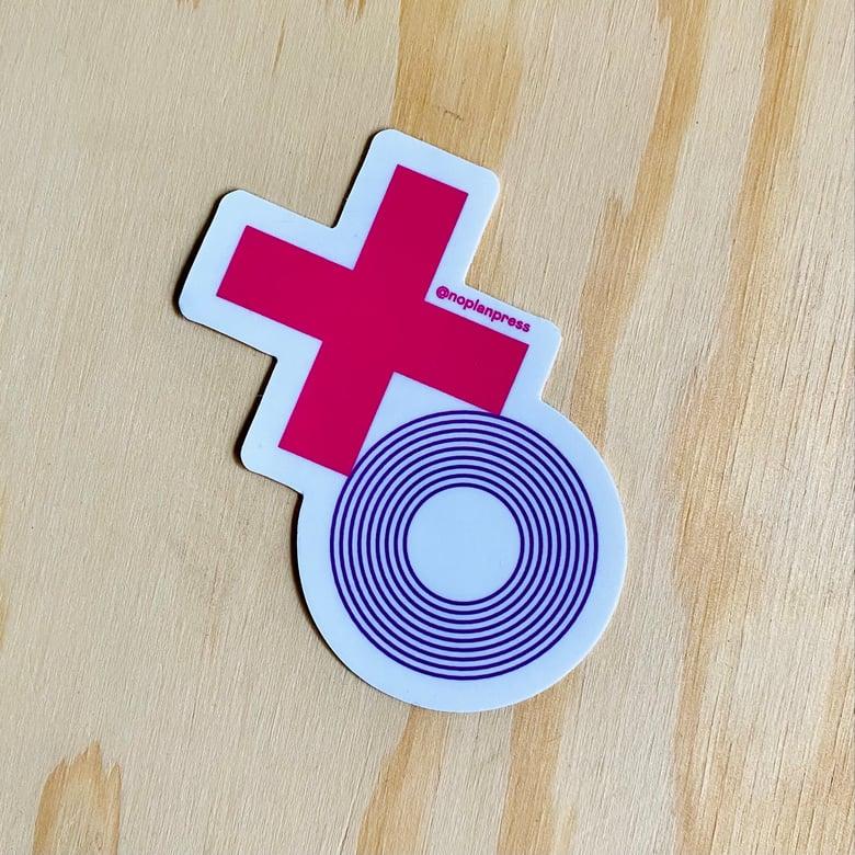 Image of XO Sticker