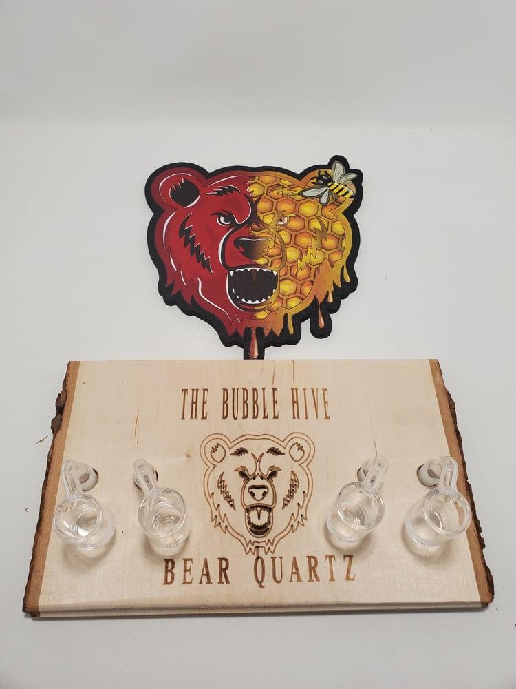 Image of Bear Quartz Bangers & Spinner Disk Sets (Free Shipping)