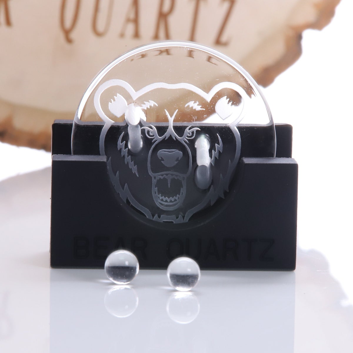 Image of Bear Quartz Bangers & Spinner Disk Sets (Free Shipping)