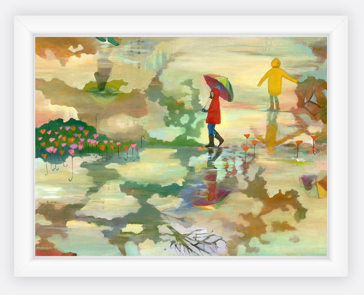 Image of Reflection 2 Canvas Print