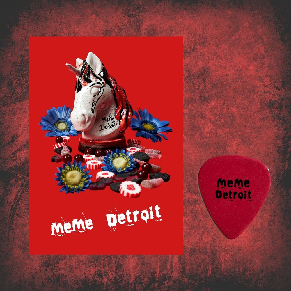 Image of Limited Edition Poster & Plectrum Exclusive