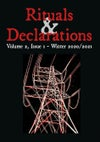 Rituals & Declarations - Volume 2, Issue 1 - Winter 2020/2021