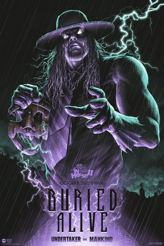 Image of WWE BURIED ALIVE - REGULAR AP EDITION (MONDO)