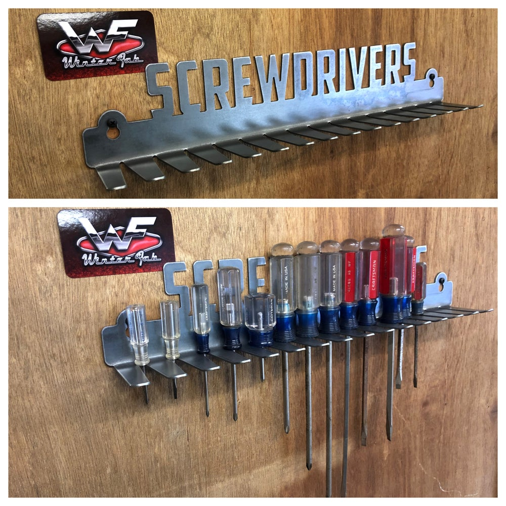 Image of Screwdriver Rack