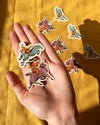 4 Pack of Stickers - Leaping Cherubs