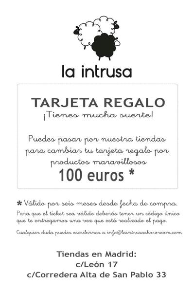 Image of TARJETA REGALO 100 euros!