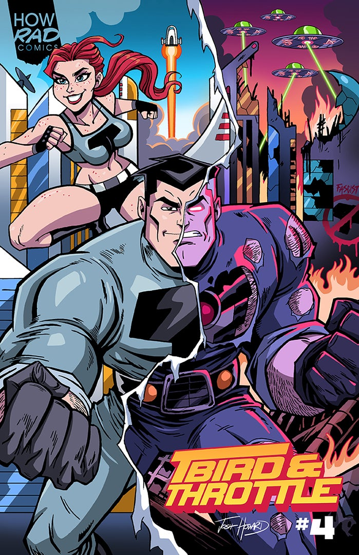 Image of PRE-ORDER: T-BIRD & THROTTLE #4