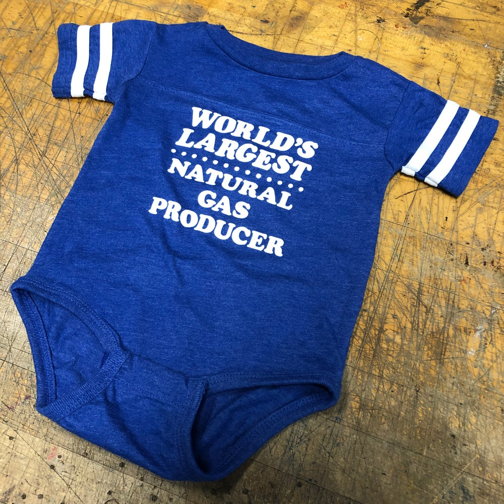 Image of Natural Gas  - 12 month onesie