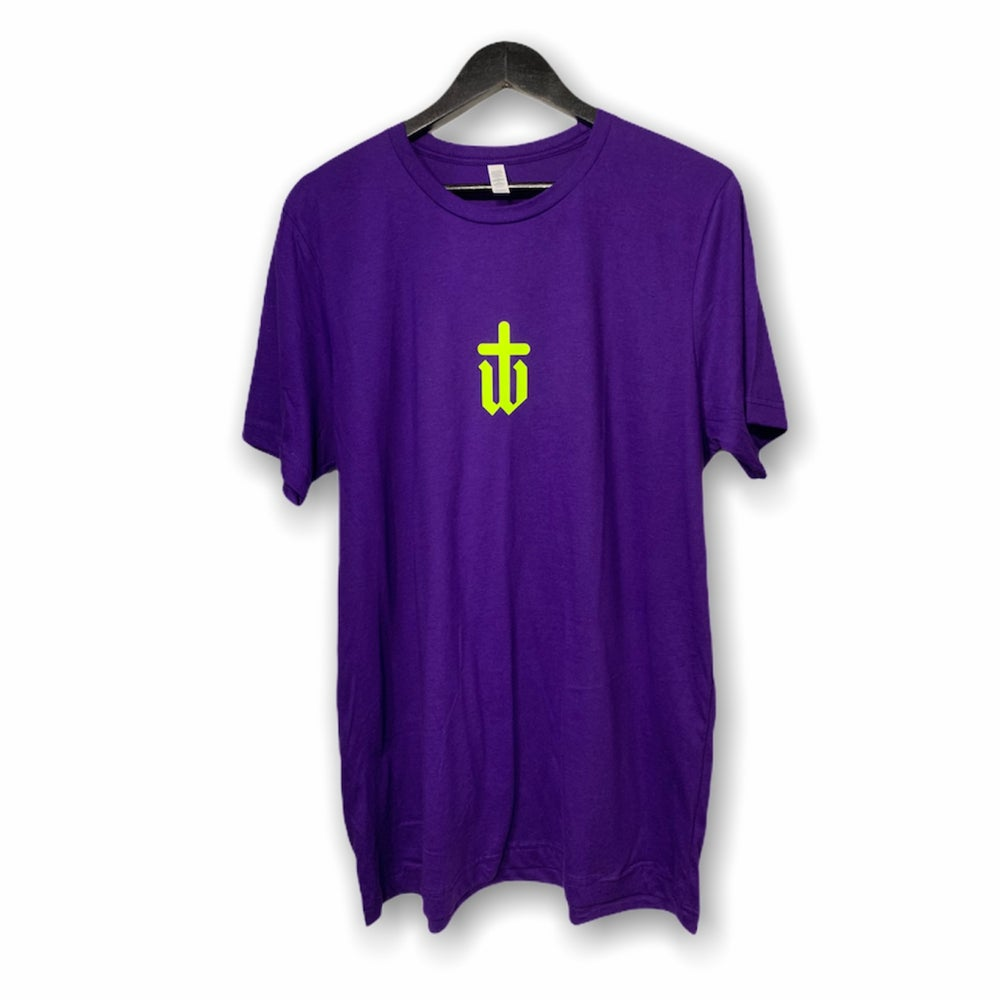 Image of PURPLE|NEON TEE