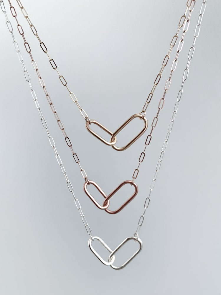 Image of Love Links Necklace